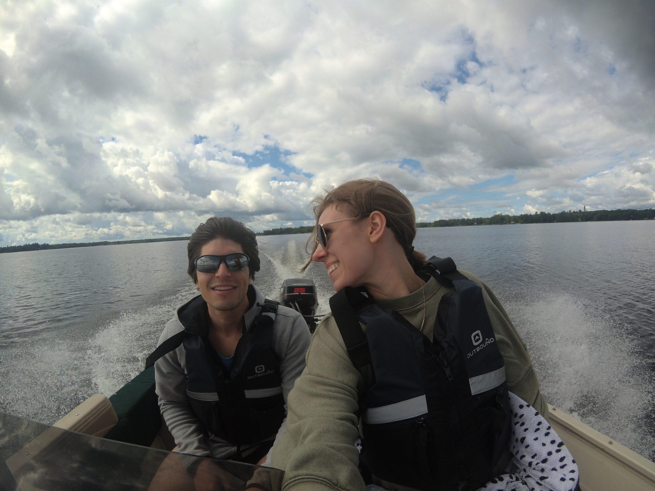 boating in muskoka