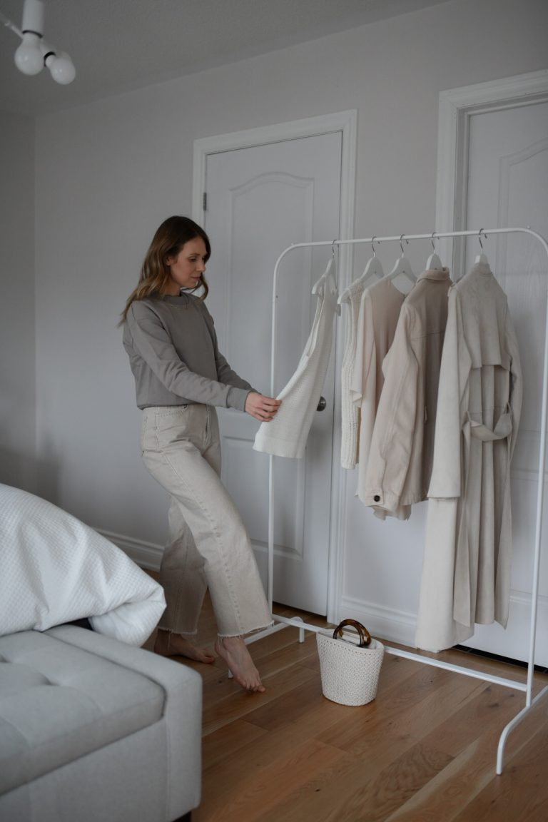 restyling four wardrobe items to feel new